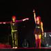 Roger abriendo el concierto de los Jonas Brothers