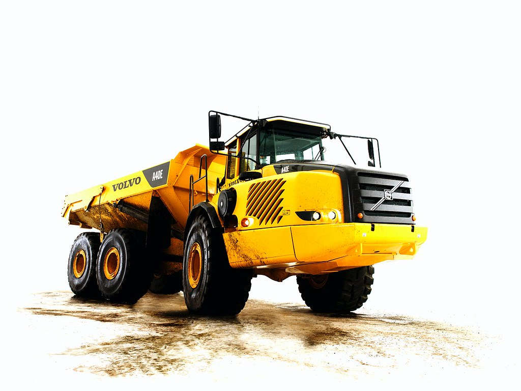 Volvo A40E Articulated Hauler in Studio | Visit the Volvo Co… | Flickr