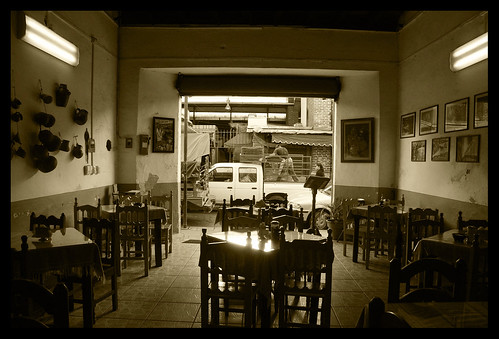 """Fonda Mexicana"" eatery, Oaxaca / Mexico 