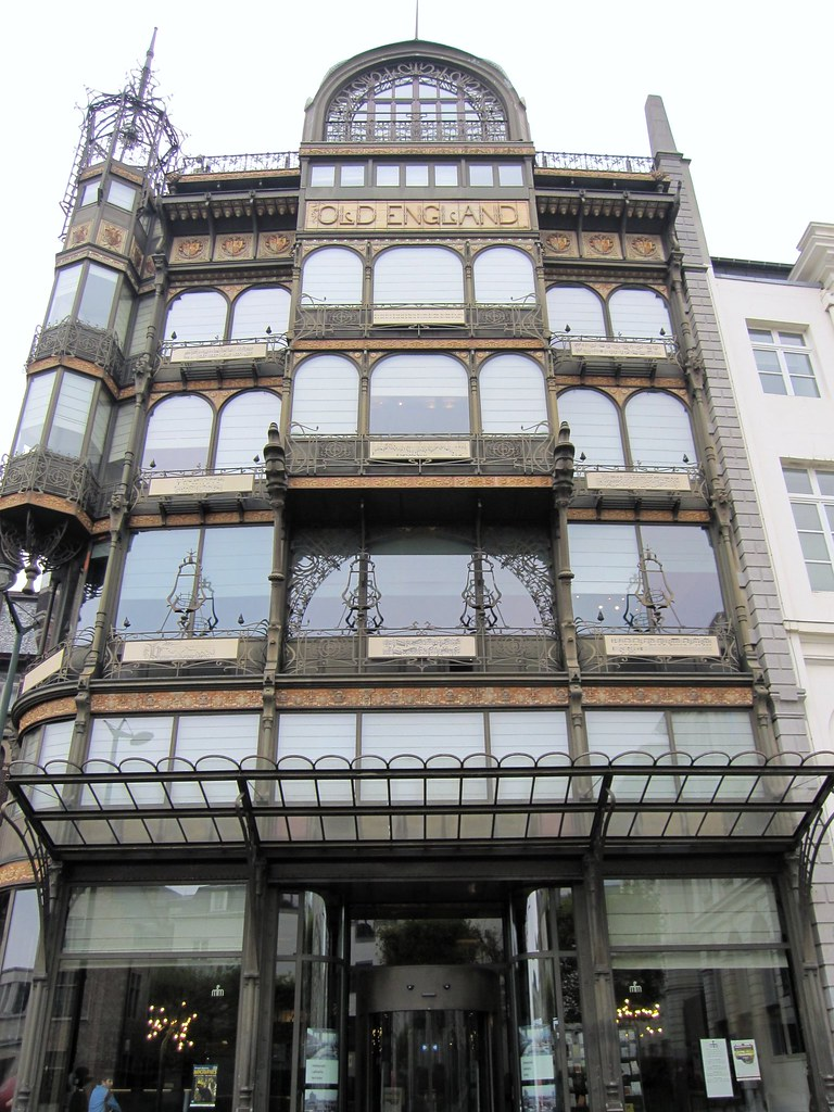 Paul Saintenoy 39 S Old England Art Nouveau Building Brussel Flickr