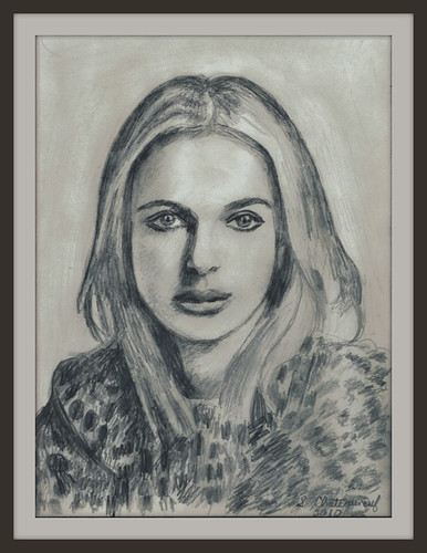 Natalie Portman - Pencil Drawing by snc145 (2010) | by snc145