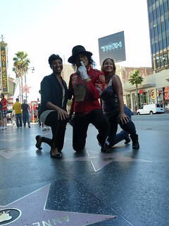 Michael Jackson impersonator at MJ's Star in Hollywood | by jeff_soffer