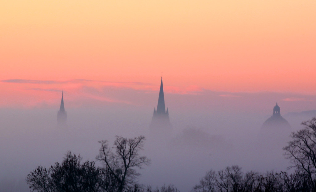 Spires That In The Sunset Rise Spires That In The Sunset Rise