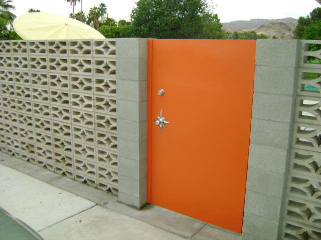 Screen Block Wall Mid Century Vintage With Starburst