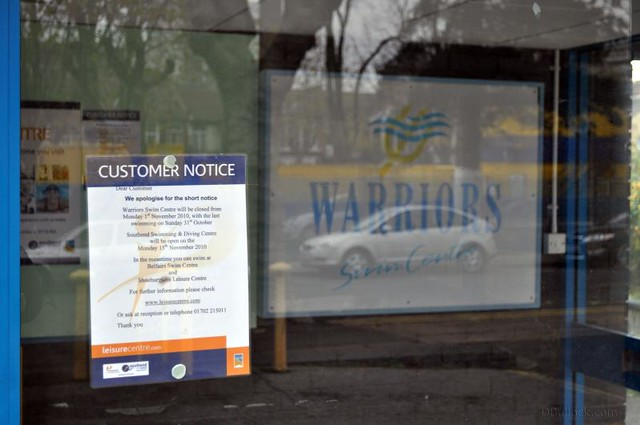 Southend Warriors Square Swim Centre Has Closed Despite Flickr Photo Sharing