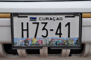 Curacao 2010 - Auto Nummernschild/ car number plate | by syncronaut