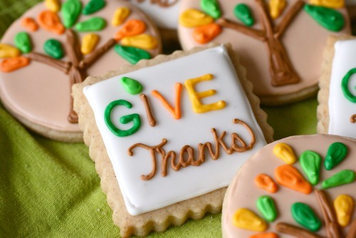 give thanks sugar cookies | by annieseats