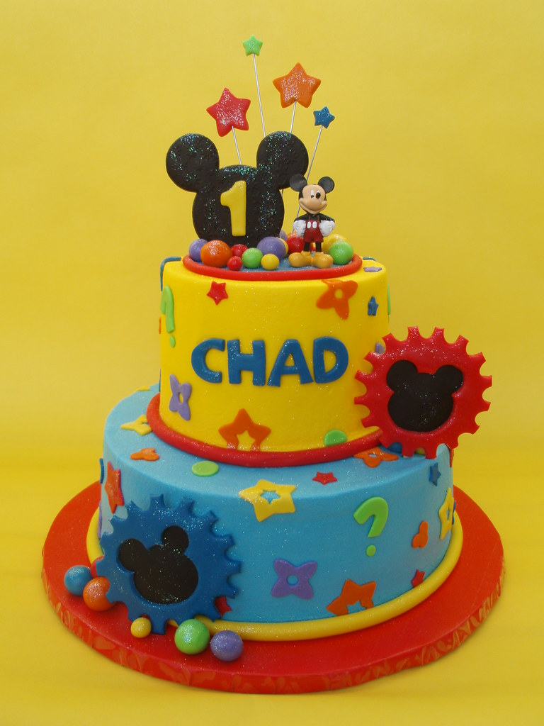 Images Of Mickey Mouse Clubhouse Birthday Cakes : Mickey Mouse Clubhouse Birthday Cake Another Mickey ...
