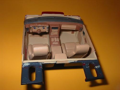 Monogram 1 24 1985 Pontiac Fiero Gt My Beige Tone Interior Flickr