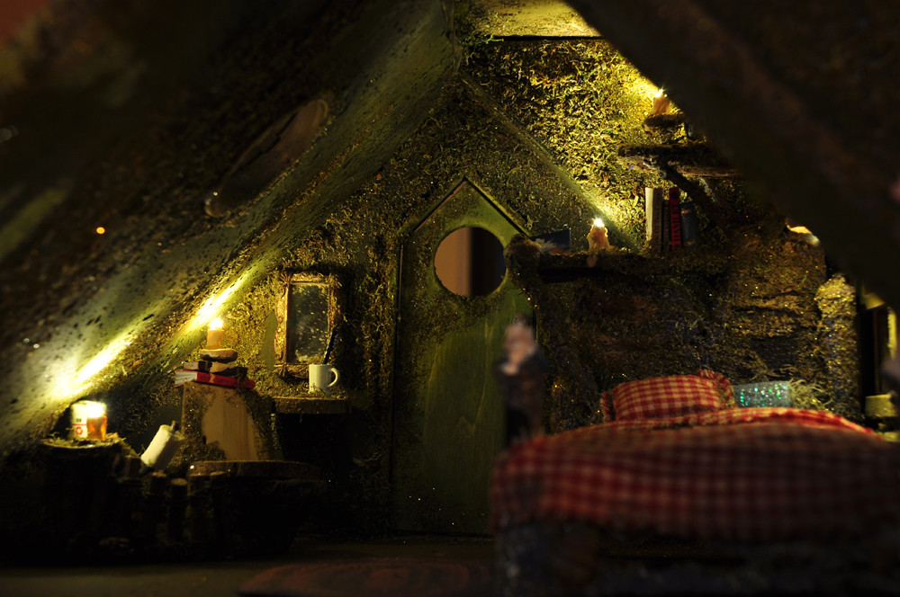 Fairy House Bed Amp Bath This Artisan Fairy House Is