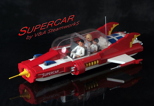 Side By Side Atv >> SUPERCAR! by V&A Steamworks | Supercar was a children's TV ...