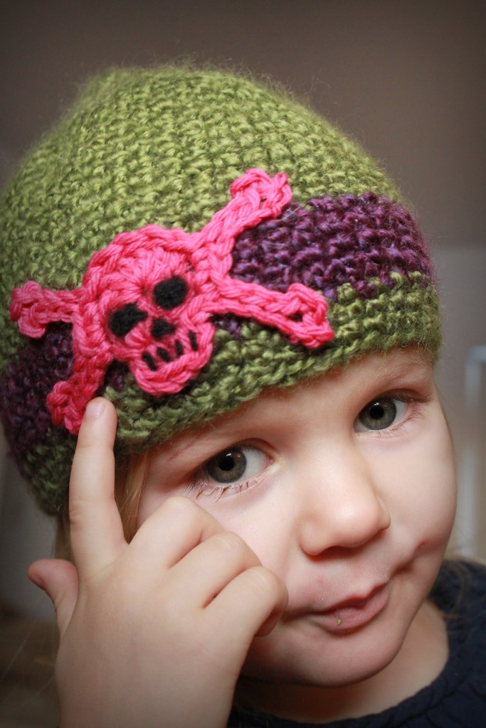 Skull And Crossbones Motif Crochet Pattern Tara Flickr