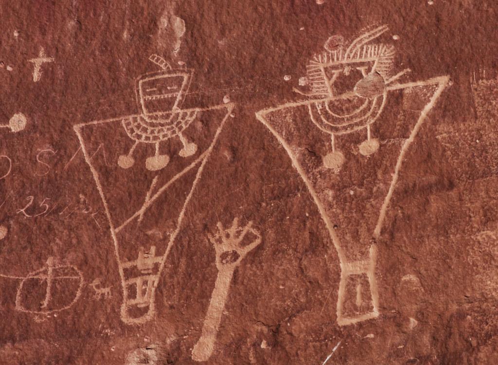 Native American Petroglyphs Fremont Culture Petroglyphs