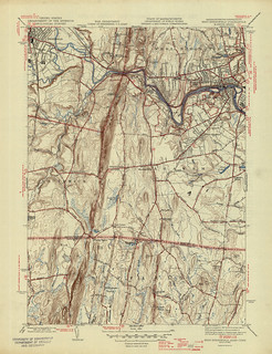 West Springfield Quadrangle 1945 - USGS Topographic Map 1:31,680 | by uconnlibrariesmagic