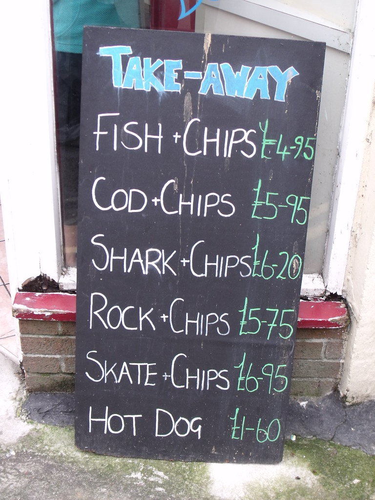 Hows that for fish and chips last hussar flickr for How s the fishing