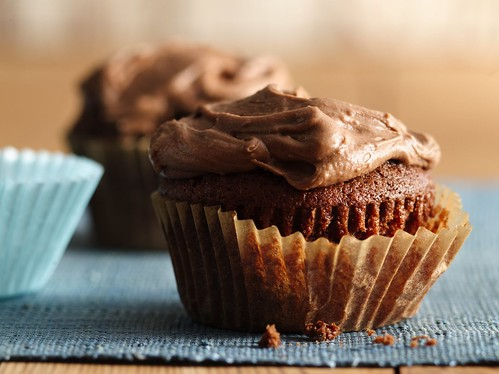 Frosted Chocolate Malt Cupcakes | by Betty Crocker Recipes