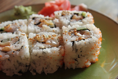 Chopped scallop roll | by Geoff Peters 604