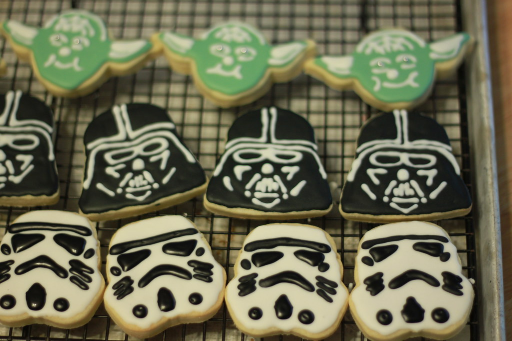 Star Wars Cookies For Moose S 5th Birthday Here Is What