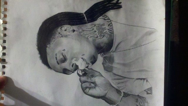 Lil Wayne Drawings Pencil drawing of lil wayne