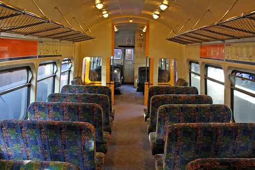 Interior of Cyclops power car DM556 at Wellington. | by zed.fitzhume