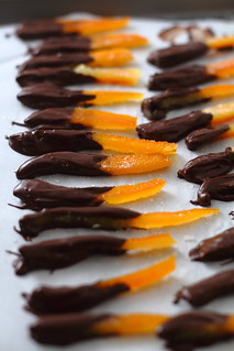 Chocolate-Dipped Candied Orange Peel | by arsheffield