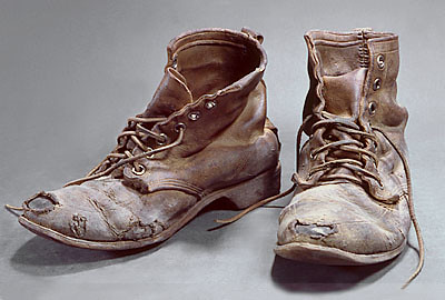 Steel Toed Boots No 4 1973 Marilyn Levine 1935 2005