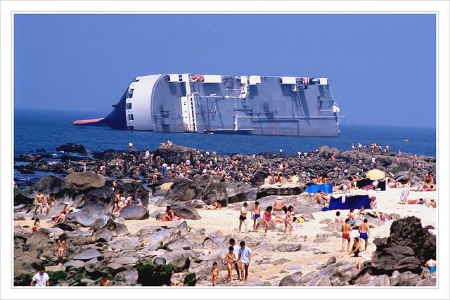 Towed Car Finder >> The stranded japanese car carrier Reijin | Flickr - Photo Sharing!