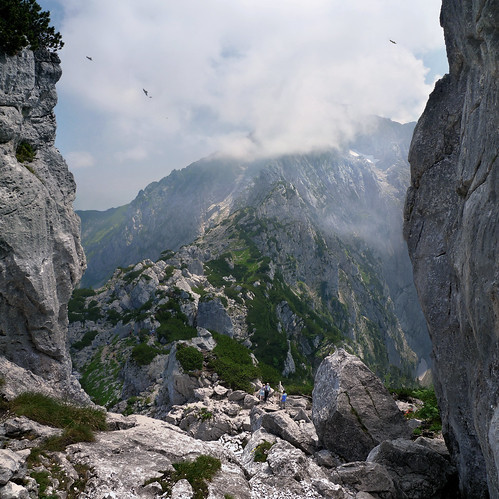 The Kehlstein passage to the Hoher Göll | by B℮n