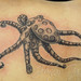 Blue ring octopus tattoo