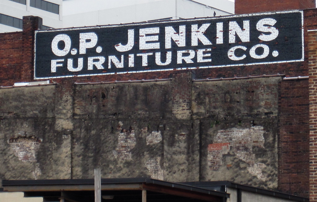 O P Jenkins Knoxville Tn An Old Painted Sign For O P J Flickr