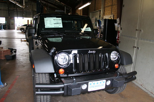 2011 Jeep Wrangler Unlimited Front Grill 2011 Jeep