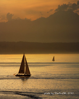 Sunset Sailing - Elliott Bay - Seattle | by Don3rdSE