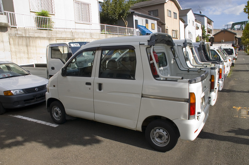 Daihatsu Hijet Deck Van Walking Across Fukuoka Flickr