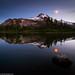 A bad moon arise'n, Mt. Jefferson, Oregon - reflection
