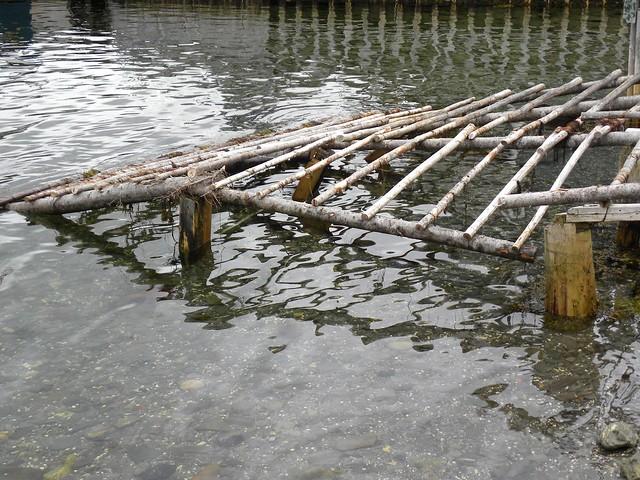 Wooden boat ramp | Soke