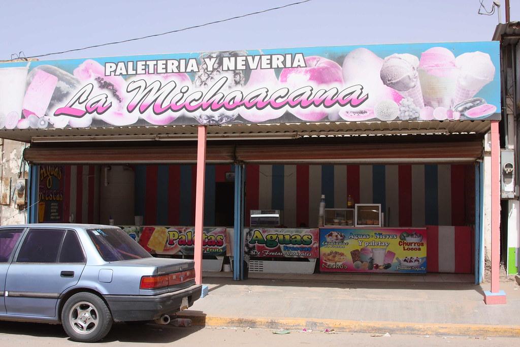 Paleteria La Michoacana Ciudad Morelos Cuervos Flickr