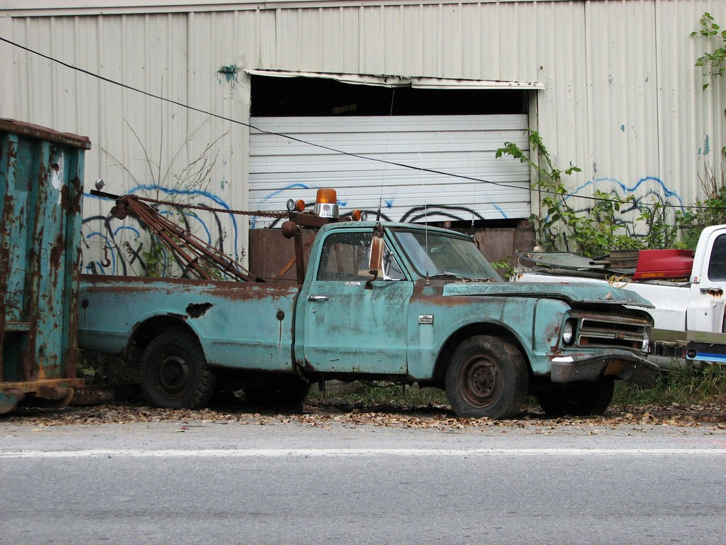 A BEAT 1967 CHEVY PICKUP SEP 2010   Seen better days.   RICHIE W ...