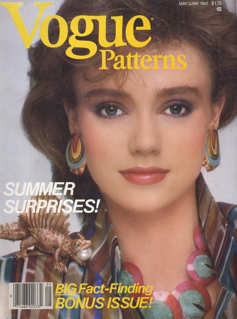 Vogue Patterns 1982 Vogue Patterns Fashion Magazine May Ju Fashion Covers Magazines Flickr