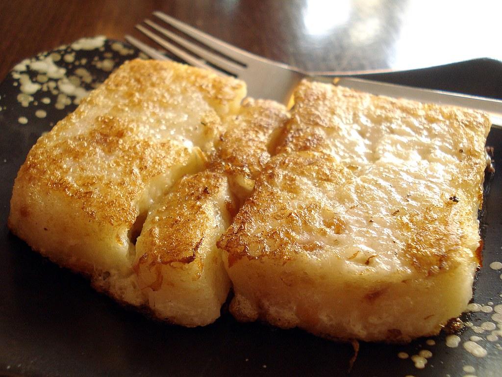 Pan Fried White Turnip Cake