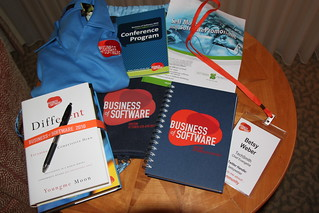 What's in the bag? Business of Software 2010 | by betsyweber
