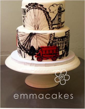 Punisher Wedding Cake