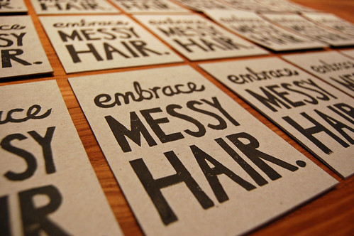 embrace messy hair | by funnelcloud rachel