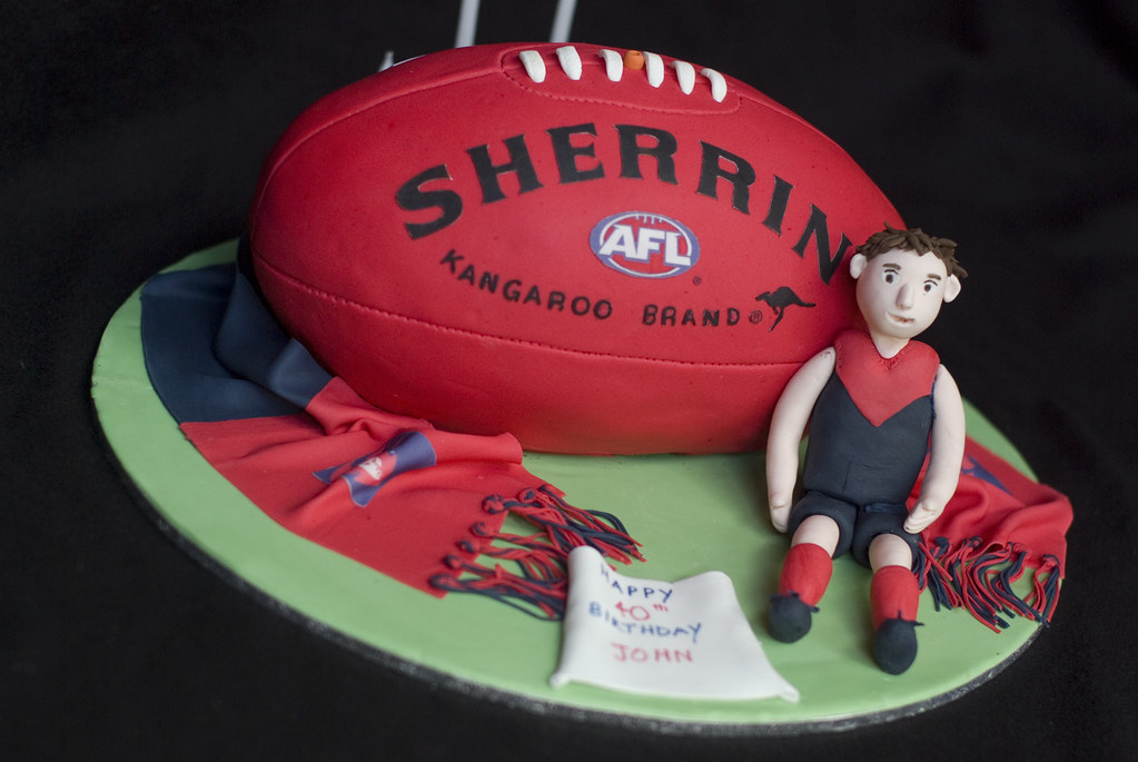 Footy Cakes Melbourne