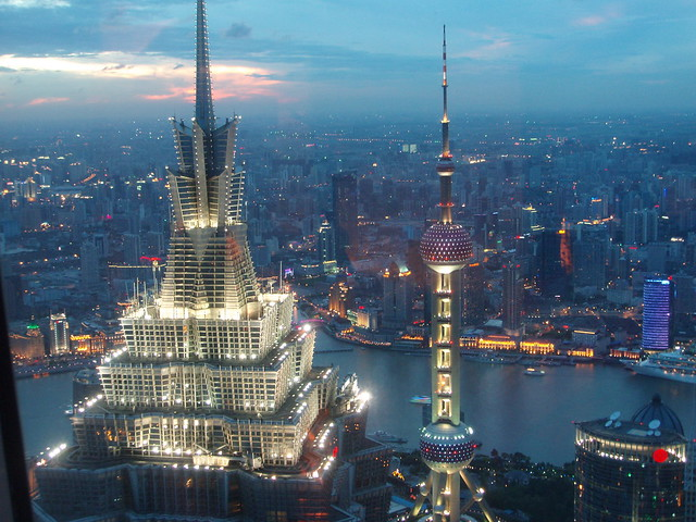 SWFC Shanghai Skyline | Flickr - Photo Sharing!