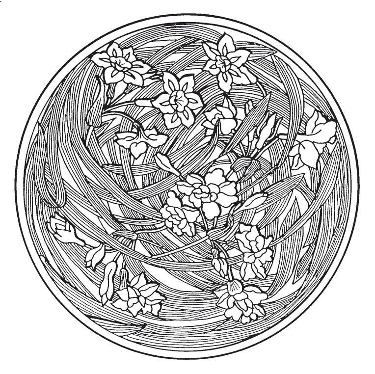 Chinese Flower Pattern Chinese Flower Pattern 10
