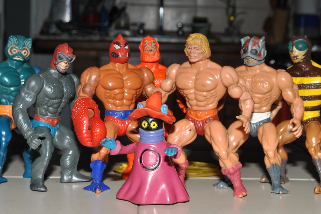He-Man Toys | What;s left of my He-Man toys | Eduardo Hung | Flickr
