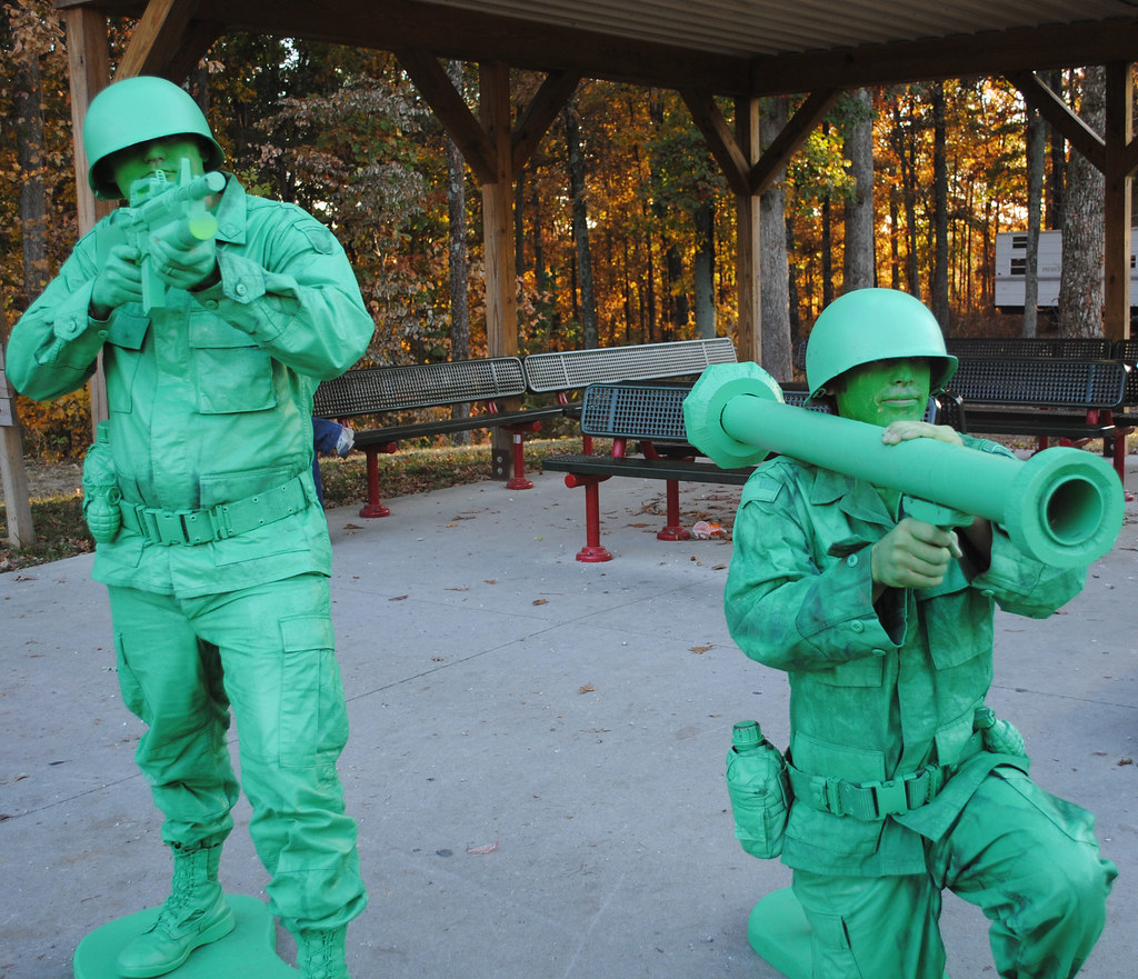 Toy Soldier Costumes at Lake Rudolph Campground RV Resor Flickr
