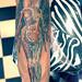 TAM -(Transparent Anatomical Mannikin) -Nirvana CD cover tattoo by Mirek vel Stotker