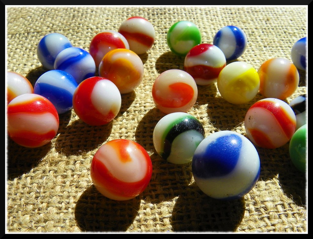 Solid White Toy Marbles : Akro corkscrew marbles some vintage quot