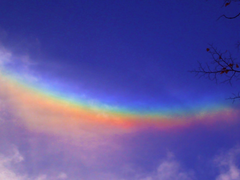 Rainbow Smile Or Scientifically Known As A Circumzenith Flickr